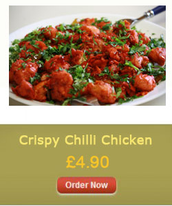 Crispy Chilli Chicken