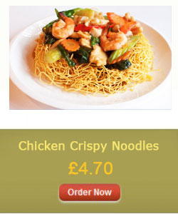 Chicken Crispy Noodles